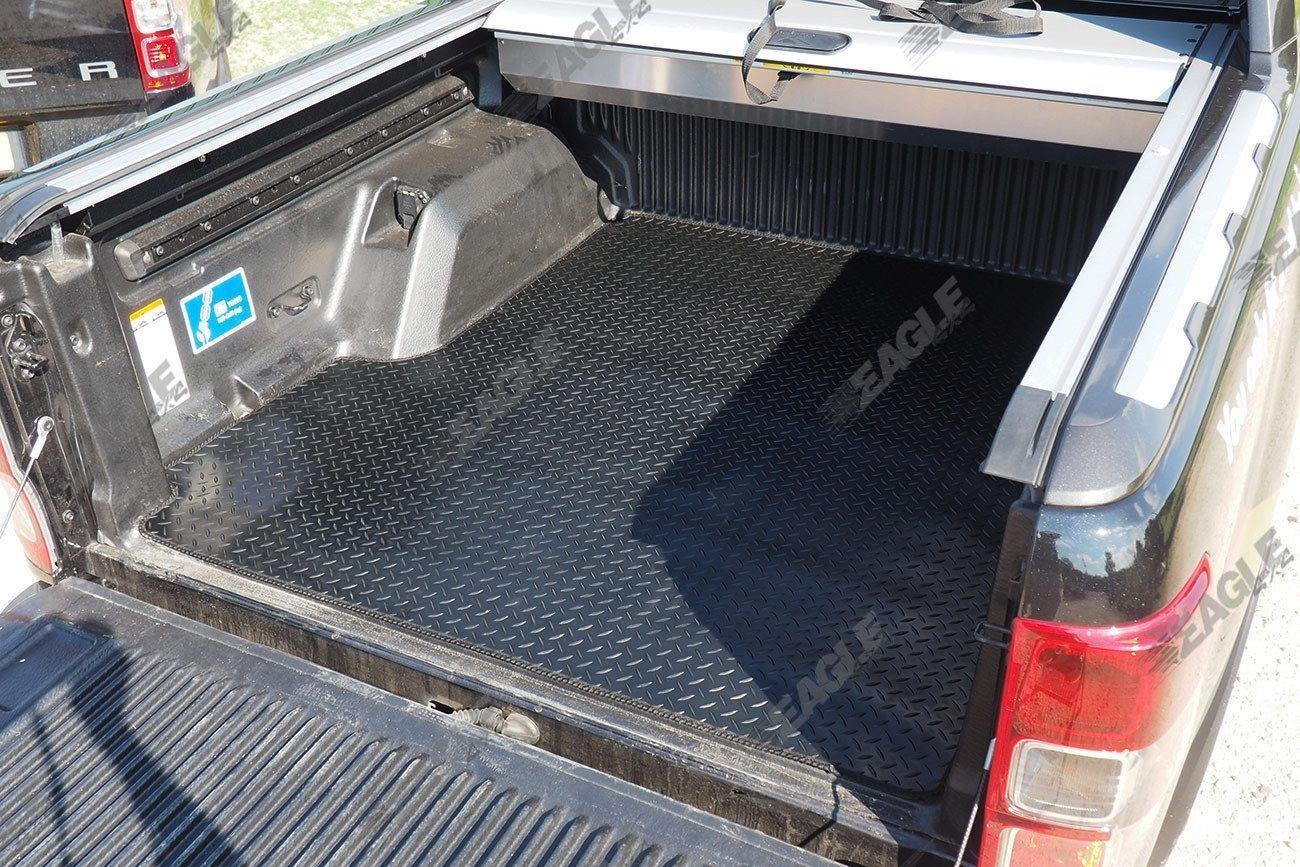 Plastic Bed Liner >> Ford Ranger T6 Rubber Boot Mat Dog Mat Non Slip Bed Mat ...