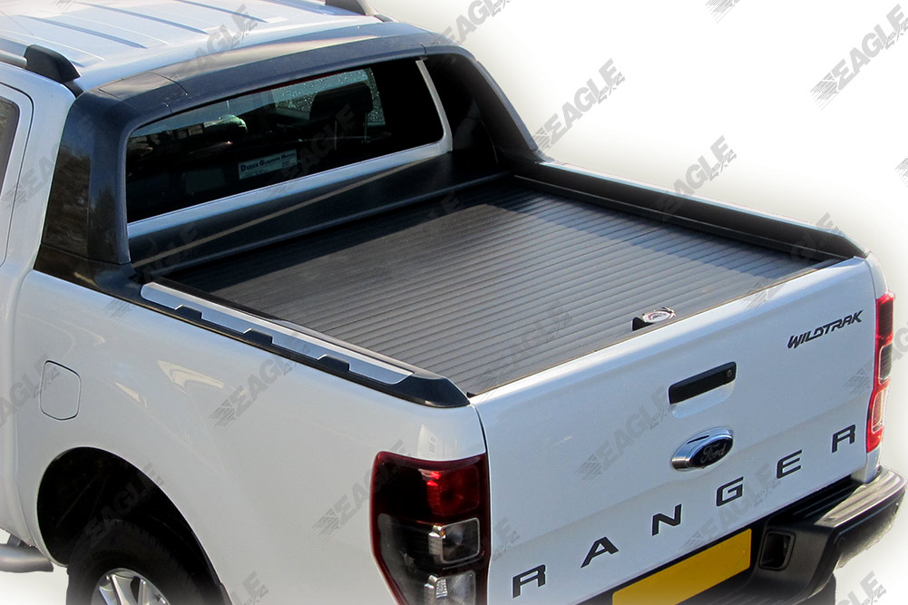 Ford Ranger T6 Wildtrak Armadillo Roll Top Cover Roll And