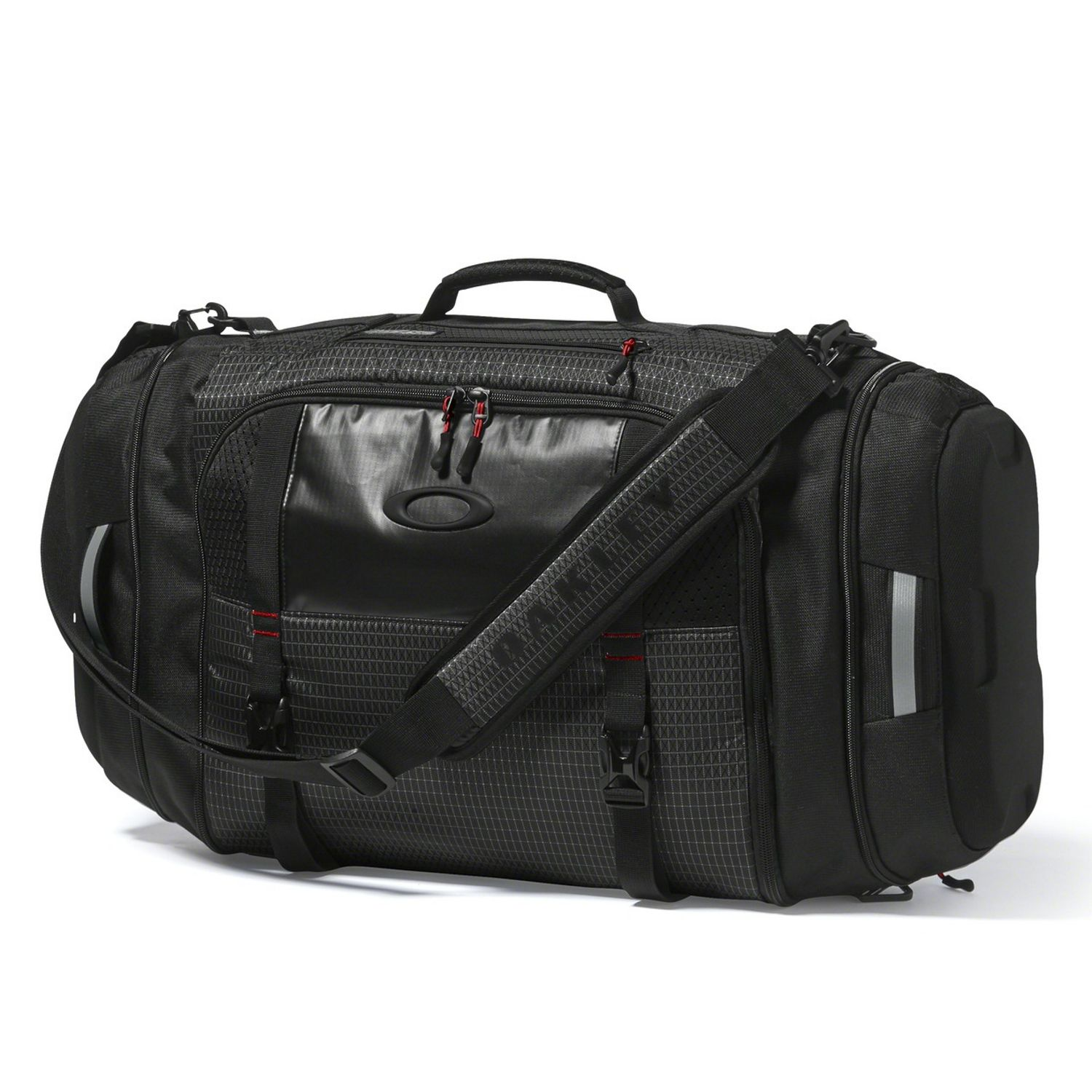 f48d6a813a OAKLEY NEW Men s Link Duffel Bag Jet Black BNWT 888896554865