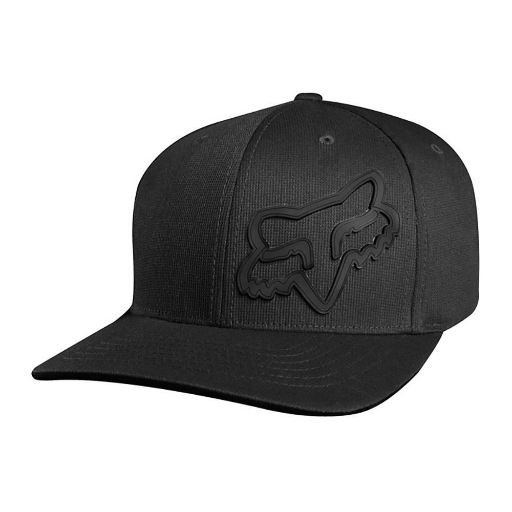 FOX NEW Mens Signature Flexfit Cap Black BNWT  330befb33fb