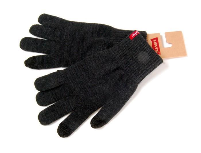 levi 39 s neu herren touchscreen handschuhe grau neu mit. Black Bedroom Furniture Sets. Home Design Ideas