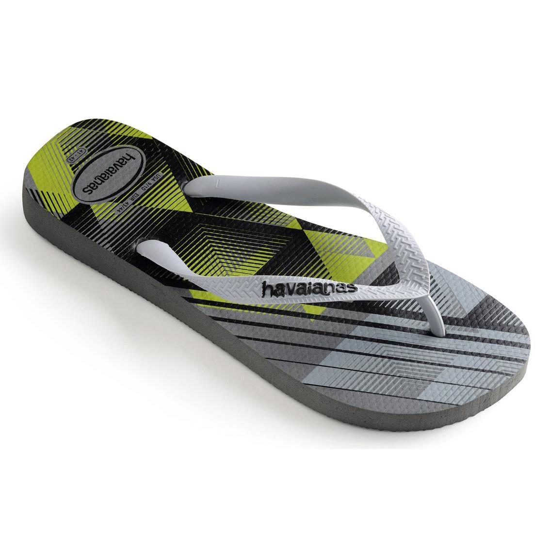07fd03855 HAVAIANAS NEW Mens Trend Flip Flops Steel Grey BNWT