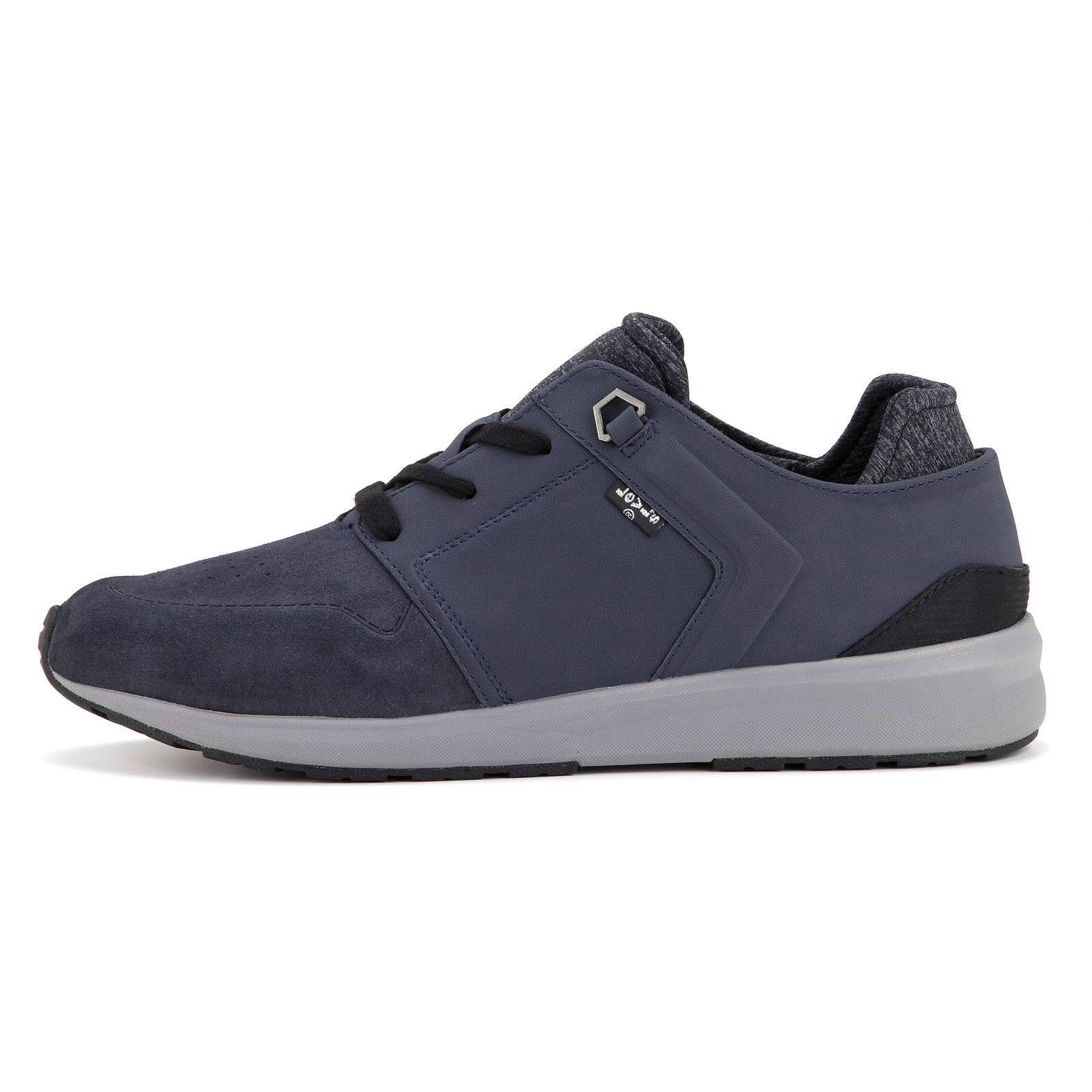 561b2fd0 levi's NUEVO hombre negro Tab RUNNER Zapatos Azul Oscuro NUEVO CON ...