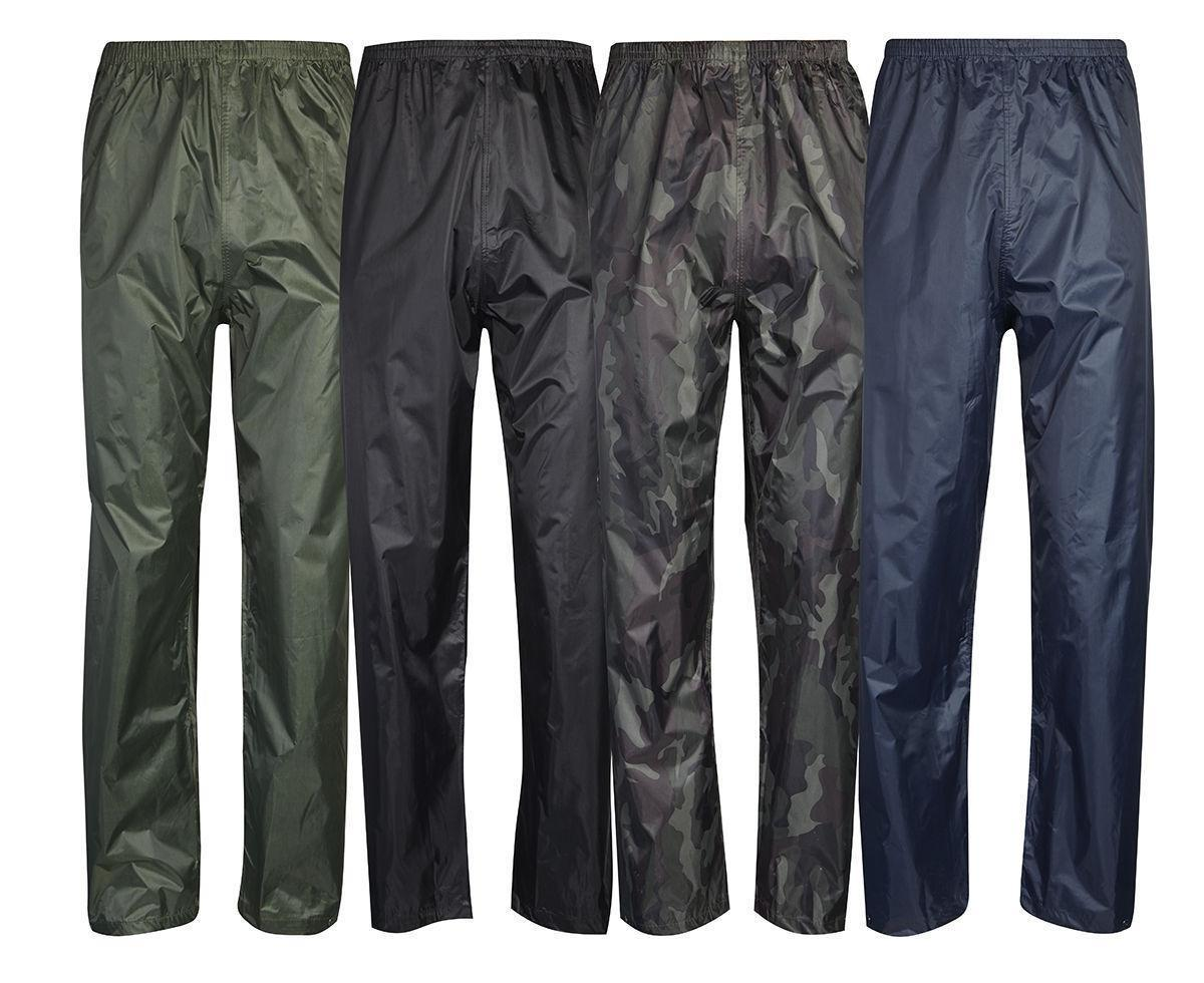 Regatta Stormbreak Mens Womens Waterproof Over Trousers Rain Fishing Hiking