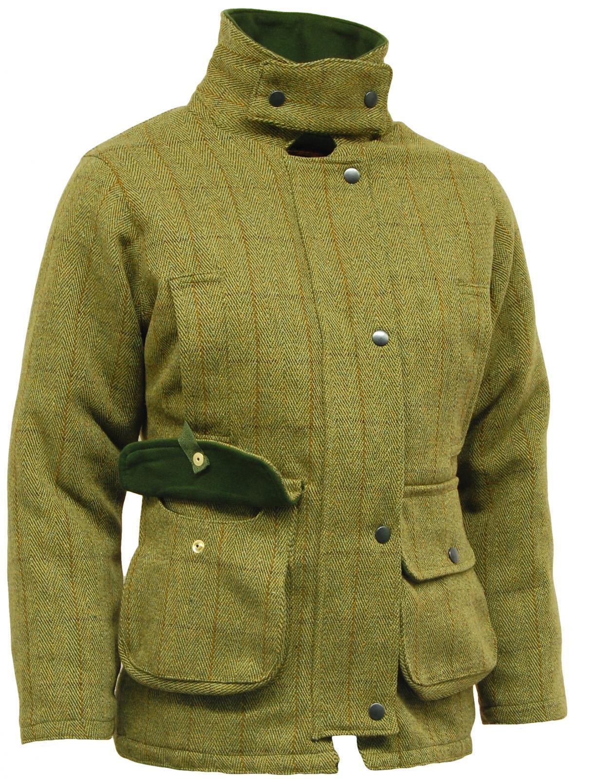 Veste de chasse tweed femme