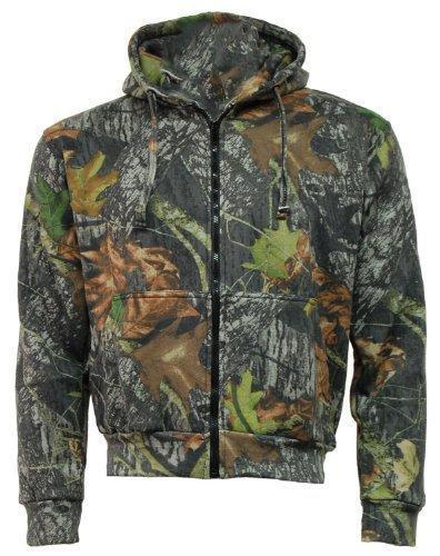 Adults Mens Camo Camoflage Hoodie Hoody Green Army Hooded Jumper Pullover Mossy