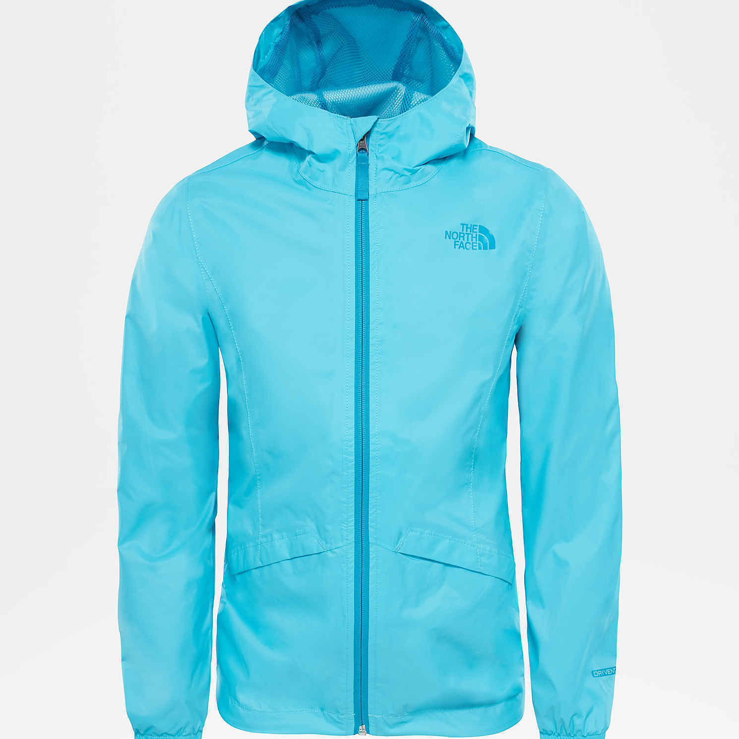 15d16f6f Details about The North Face Girls' Zipline Rain Jacket (Blue Curacao)
