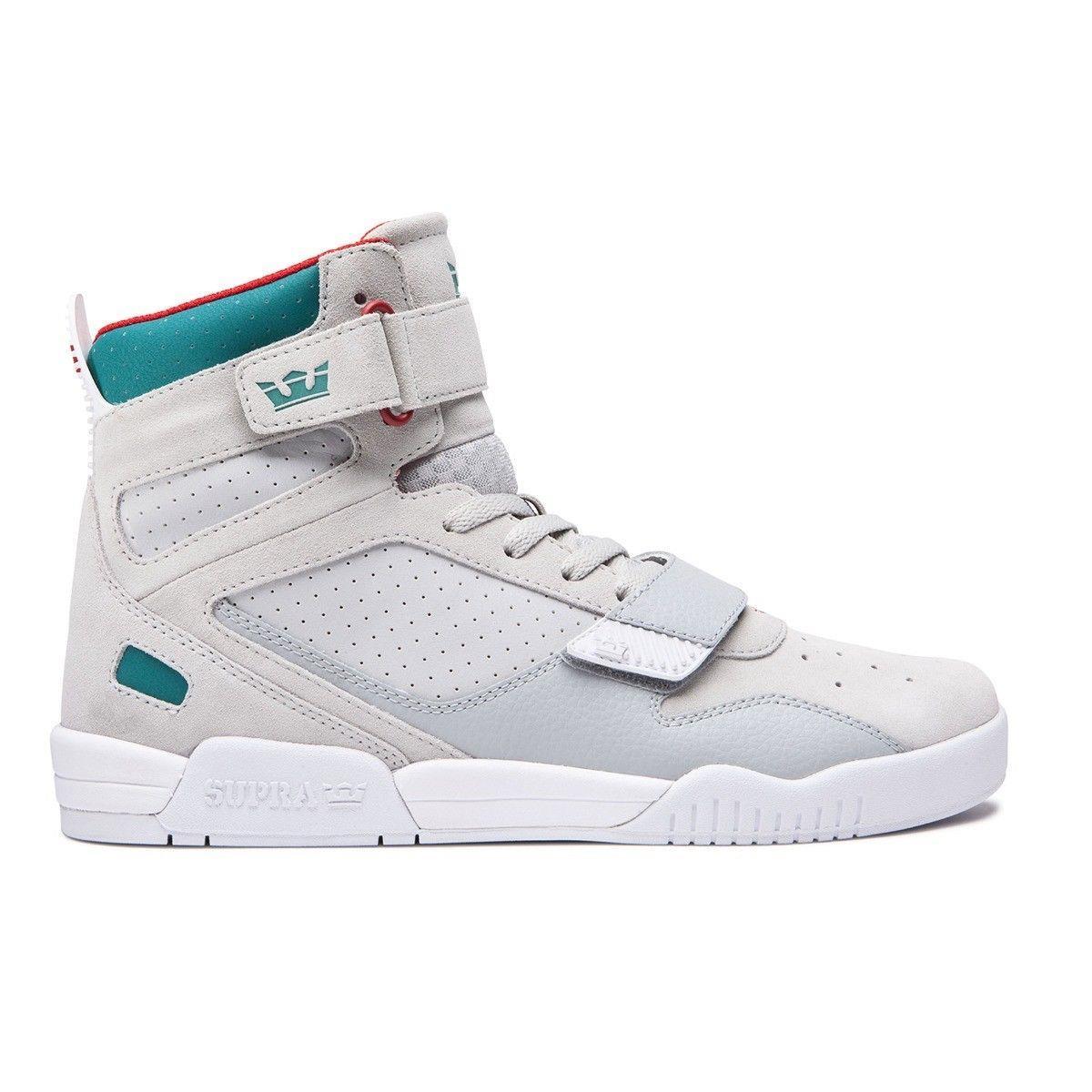 d276a1fce98c Supra breaker shoes light grey teal ebay jpg 1200x1200 Breaker shoe