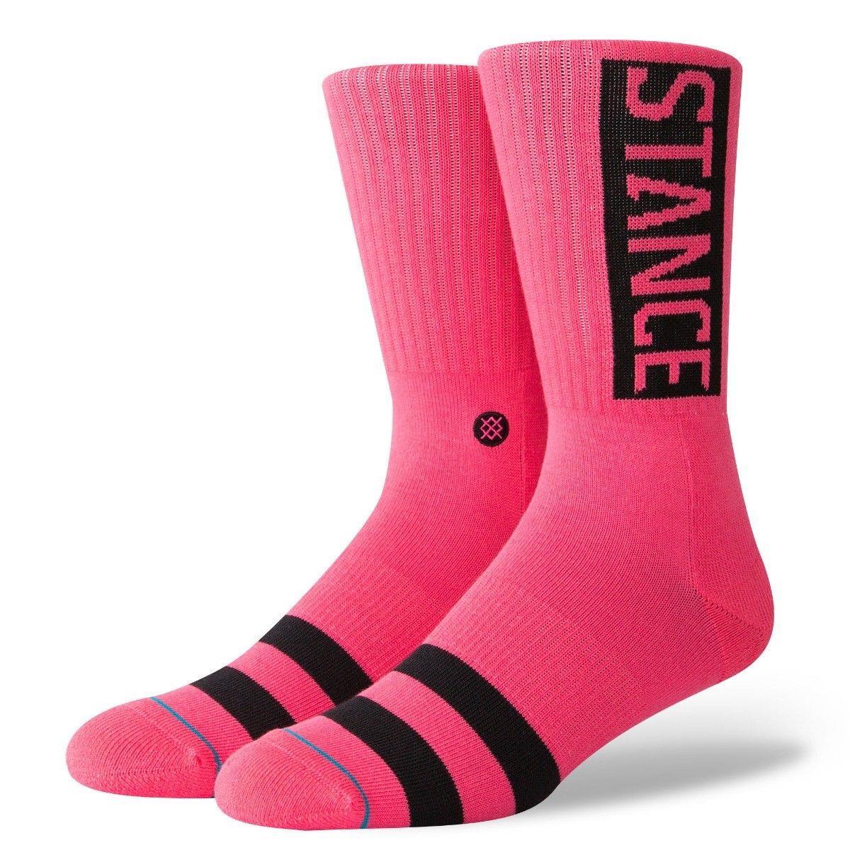 Stance Socks New Men/'s Icon Chaussettes bleu pastel BNWT
