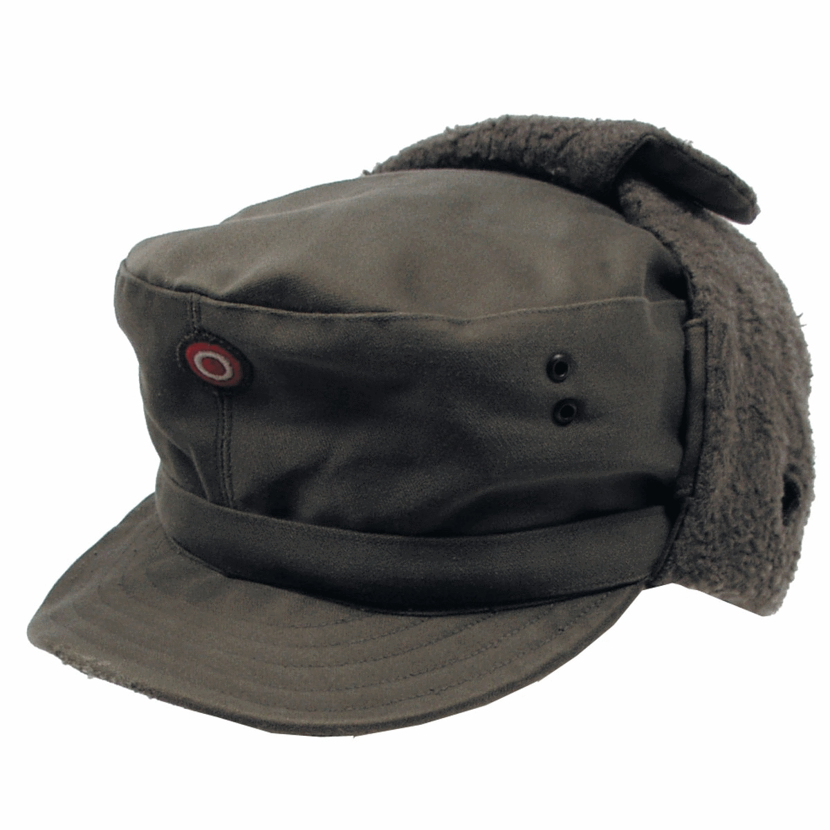 Details about Austrian army surplus winter cold weather cap with neck cover
