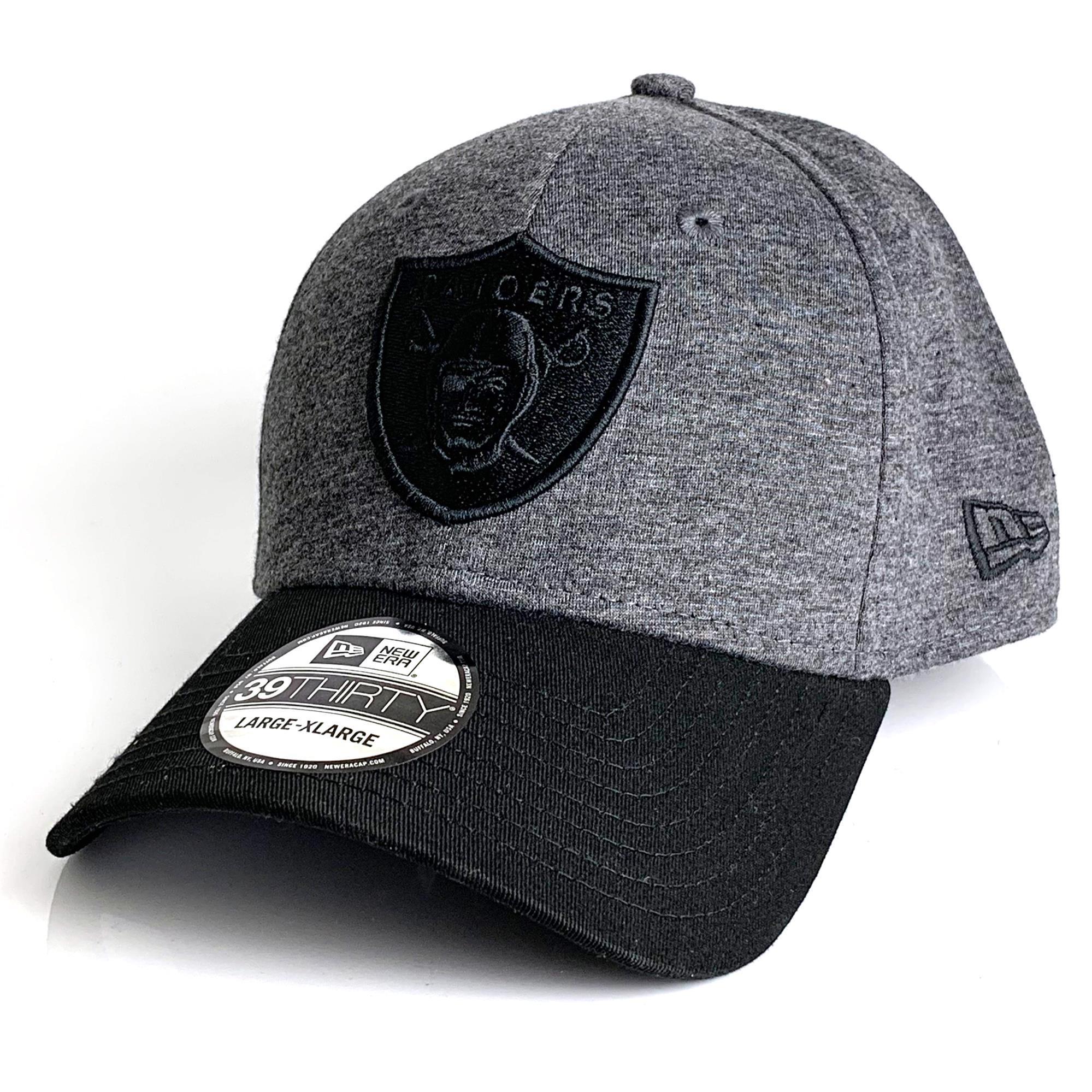 443c0ba34f4 New Era Men s Oakland Raiders 39 Thirty Cap - Black   Dark Grey BNWT ...
