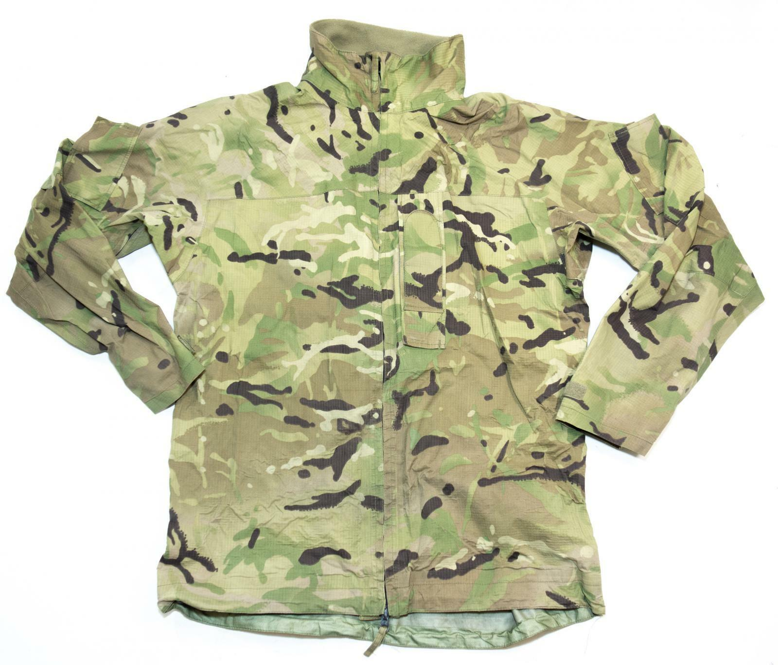 6dec47e9bc826 British Army Surplus MVP MTP Camouflage Lightweight Waterproof Jacket