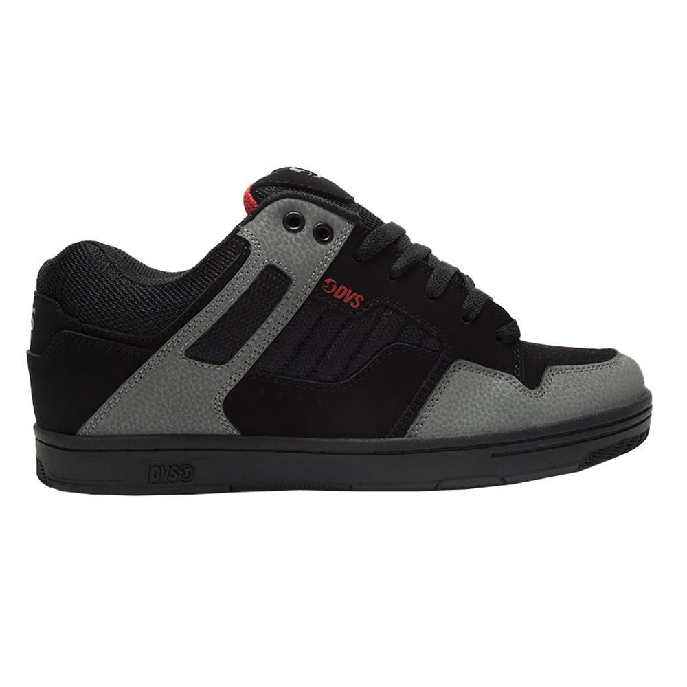 Détails sur Dvs Neuf Hommes Enduro 125 Chaussures NoirCharbonRouge Nubuck BNWT