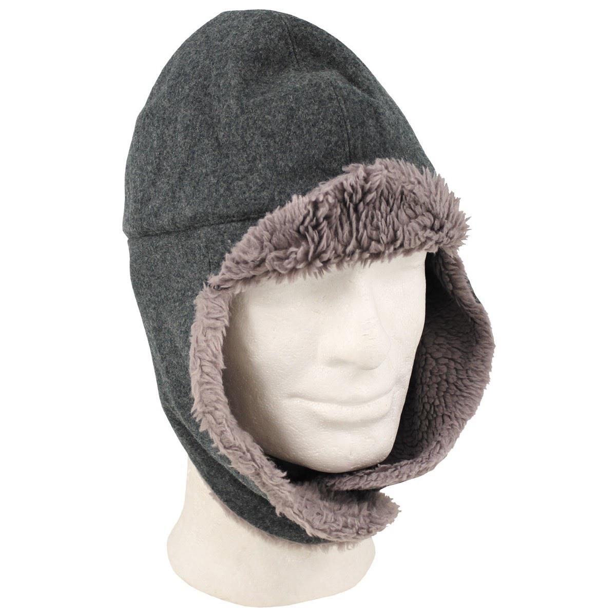 84a1144211f Details about Vintage Swiss military surplus cold weather cap hat with ear  covers