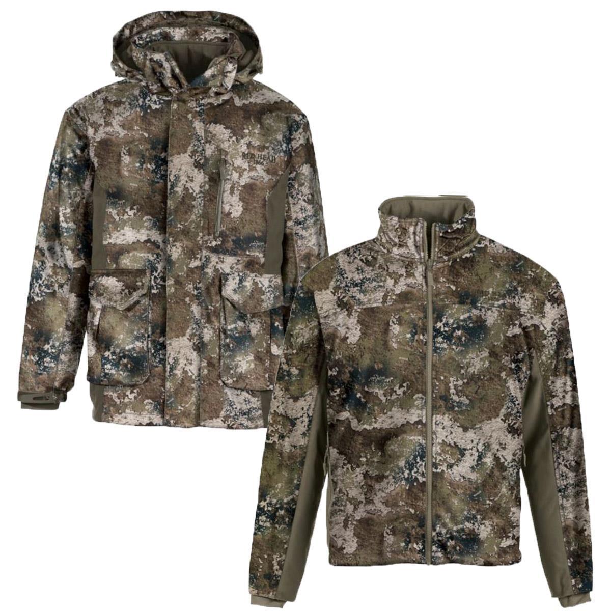 £150.00 Mens Camouflage Stalker Elite 3in1 Camo Parka CoatJacket RRP