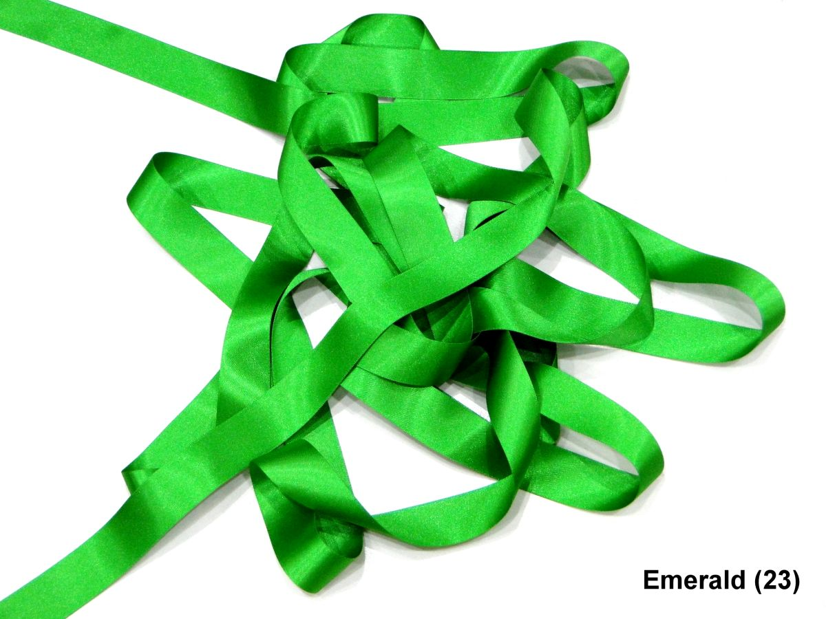 5 Meter Lengths 10mm Berisfords Double Sided Satin Ribbon Wrap Bow 56 Colours