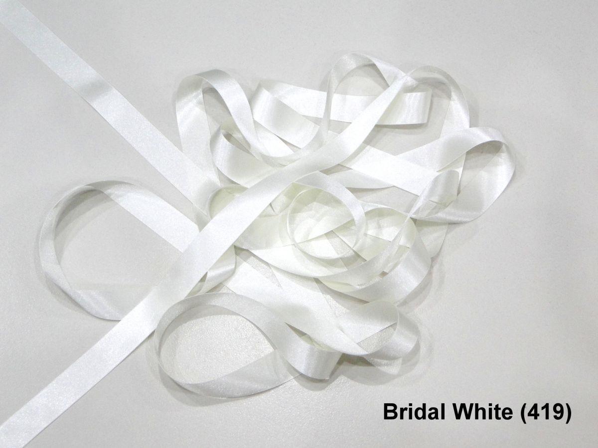 1m//5m//10m//20m//100m Berisfords Khaki 15mm Double Sided Satin Ribbon