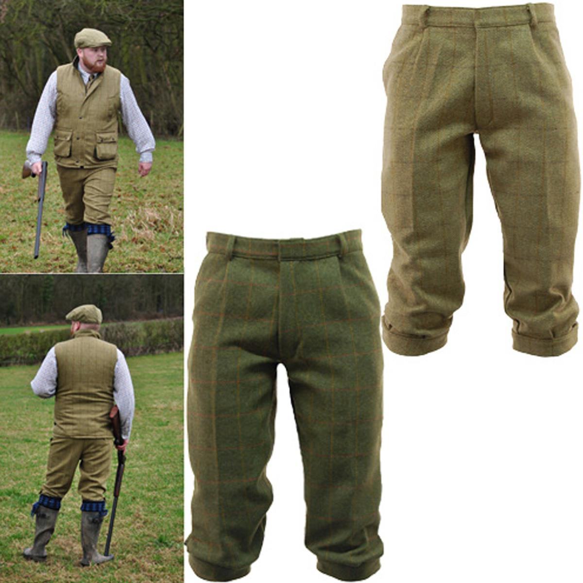 34c32ee7f20dd Mens Game Light Derby Tweed Breeks Trousers Hunting | Shooting Breeches.  Derby Tweed Breeches. Classic cut tweed breeks with two side pockets, Back  pocket ...