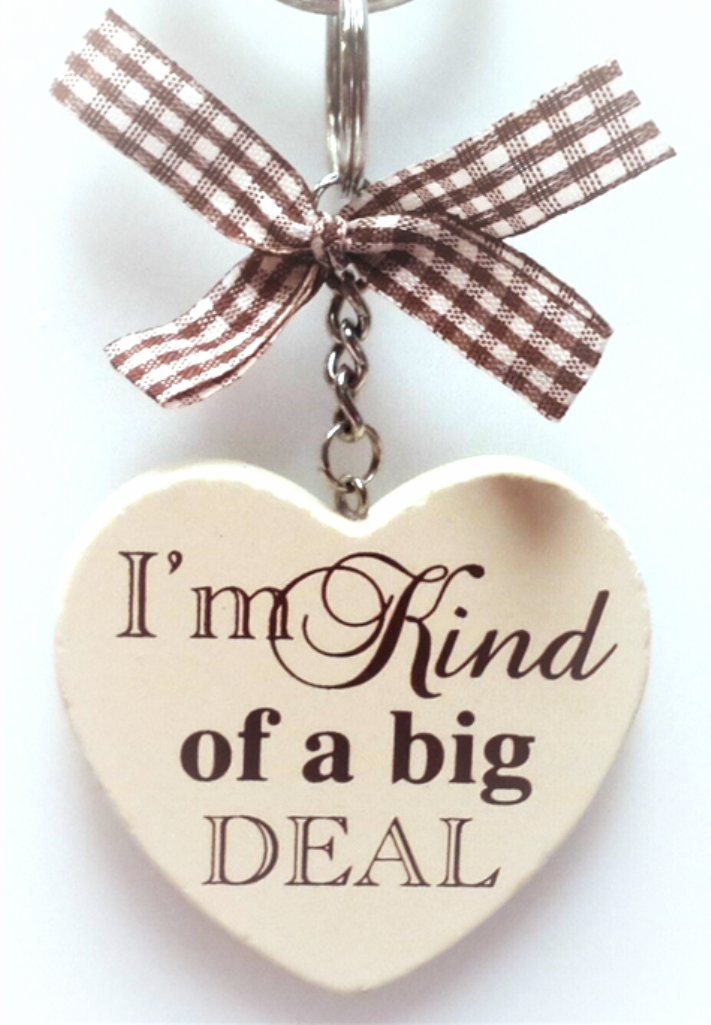 Handmade Wooden Heart Wrendale Terrier Dog Print Keyring Keychain Choice of 3