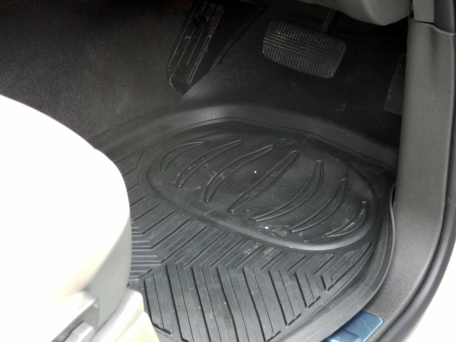 Ford Ranger Dirt Catcher Floor Mats Deep Tray Rubber Mud