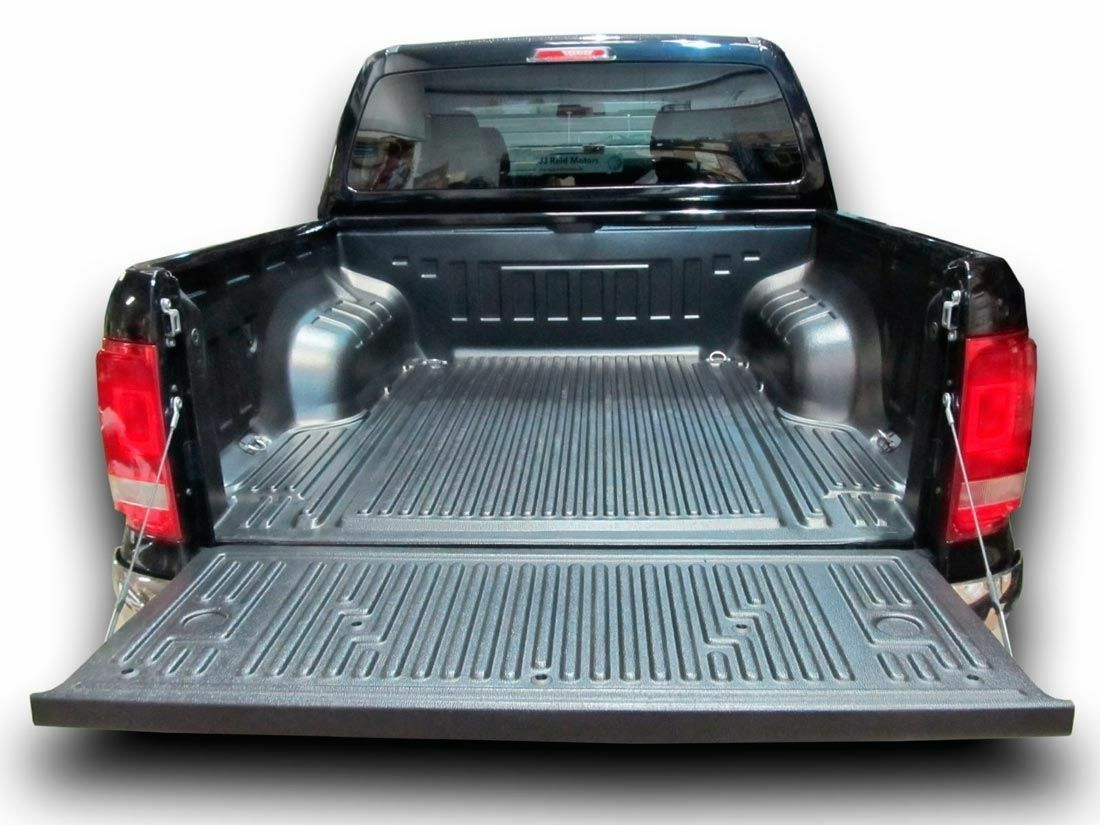 Plastic Bed Liner >> Details About 2016 On Vw Amarok Plastic Bed Liner Load Bed Liner Under Rail Heavy Duty