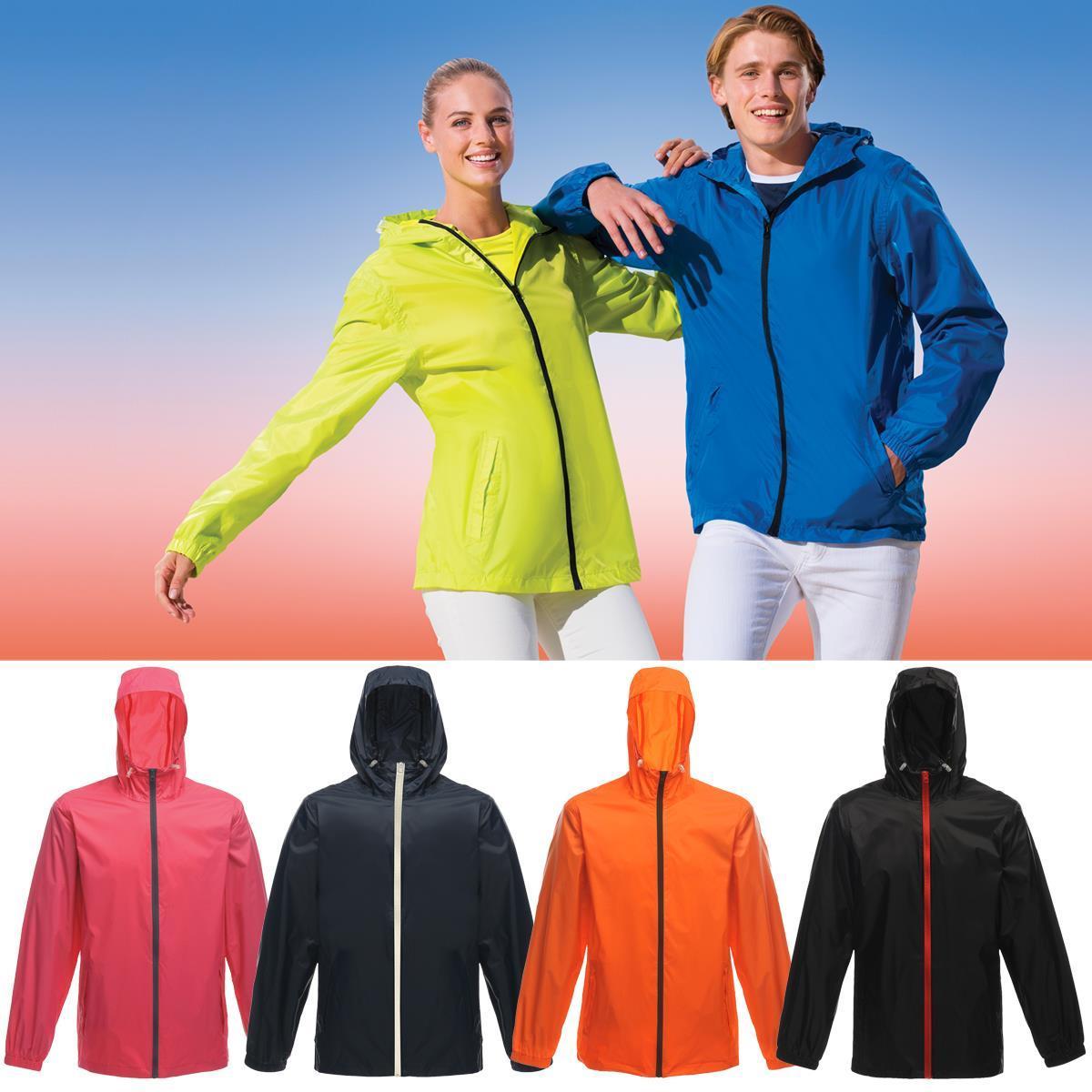 Regatta Avant Unisex Waterproof Lined RainShell Jacket Taped Seams Mesh Lining
