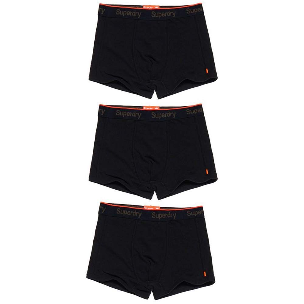 Superdry O L Sport Trunk Triple Pack Boxer Uomo