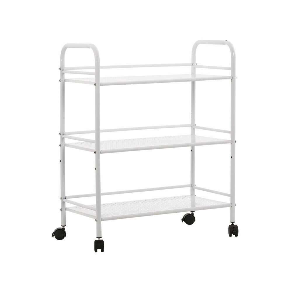 Manual Pedicure Chair Side Trolley Drawer And Stool Set