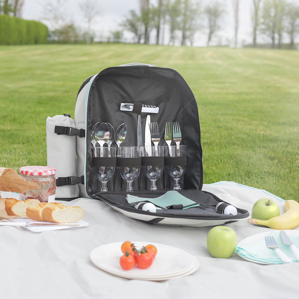 Wido 4 Person 20 5l Picnic Insulated Cooler Backpack Bag
