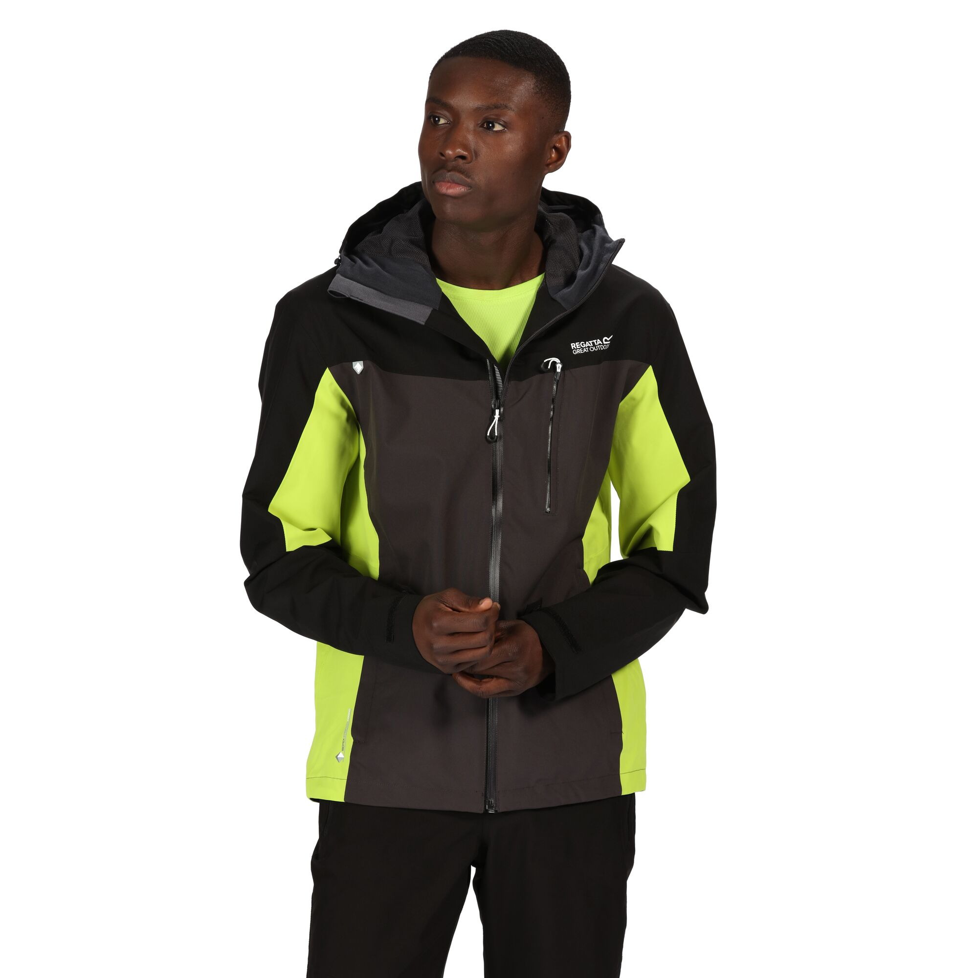 Regatta Mens Birchdale Waterproof Breathable Isotex Hi-tech Jacket