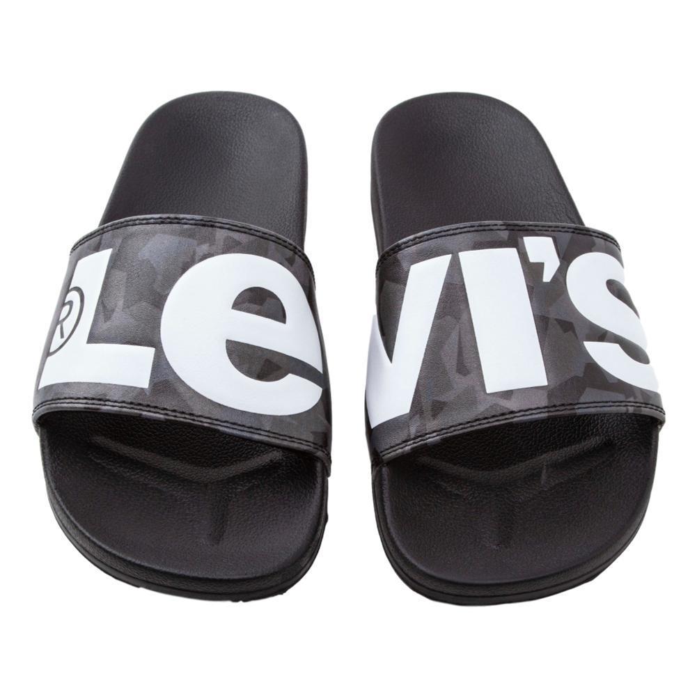 Levi/'s New Men/'s juin L Flip Flops-Regular pour Femme Noir Bnwt