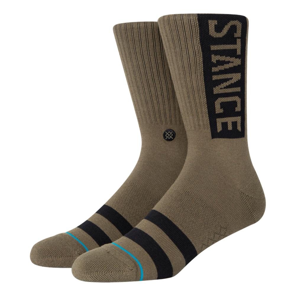 Stance NEW Mens Captain Stain Socks BNWT Grey